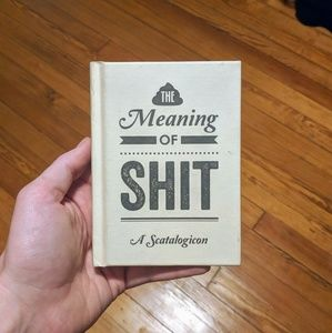 NWT Meaning of Shit book by Urban Outfitters